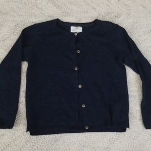 6-7 Zara Navy Sweater Girls